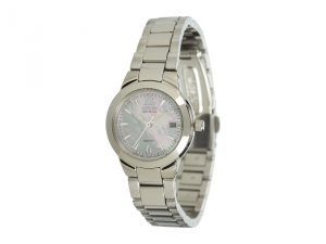 Citizen Watches EW1670-59D Silhouette Sport Eco Drive Watch (Stainless Steel/Mother Of Pearl) Sport Watches
