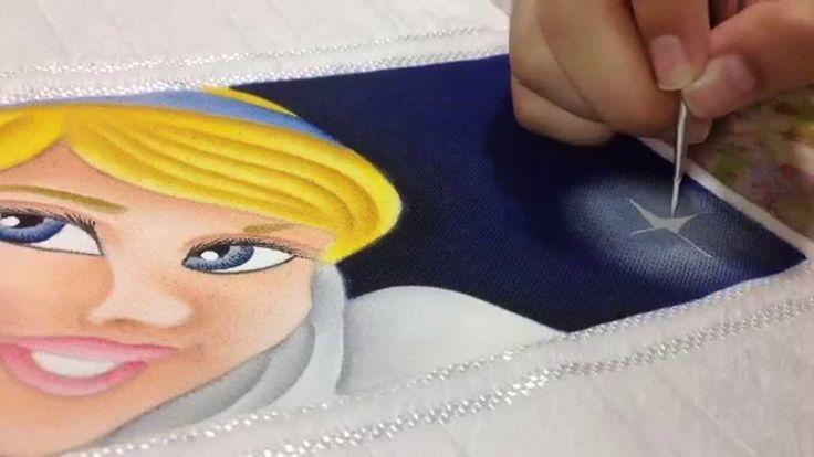 Thanynha Avila-Como fazer fundo pintura em tecido