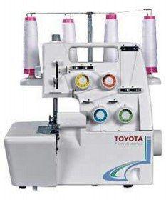 Toyota Macchina tagliacuci Toyota SL3304 - Sistema semplificato di infilatura.