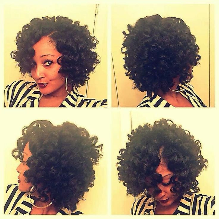 1000 Images About Flexi Rod Hairstyles On Pinterest