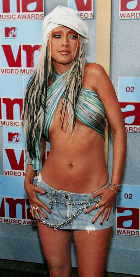 """Christina Aguilera's """"Dirty"""" phase was...memorable."""