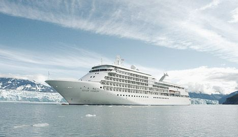 Silver Shadow is Silversea's most luxurious cruise ship with a fitness centre and the best wine restaurant by Relais and Châteaux on sea.