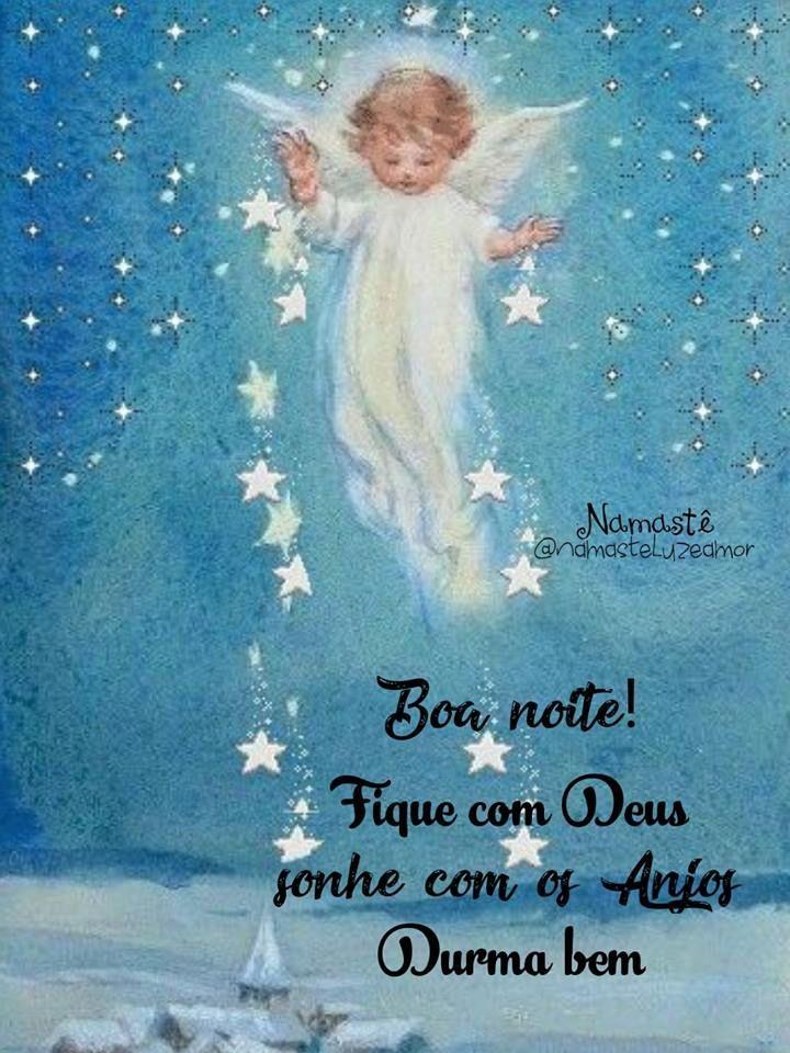 Lindo Anjo Boa Noite Frases De Boa Noite Boa Noite Com