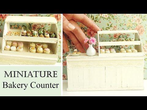 DIY Miniature Bakery/Deli Counter Using Lolly Sticks || Maive Ferrando - YouTube