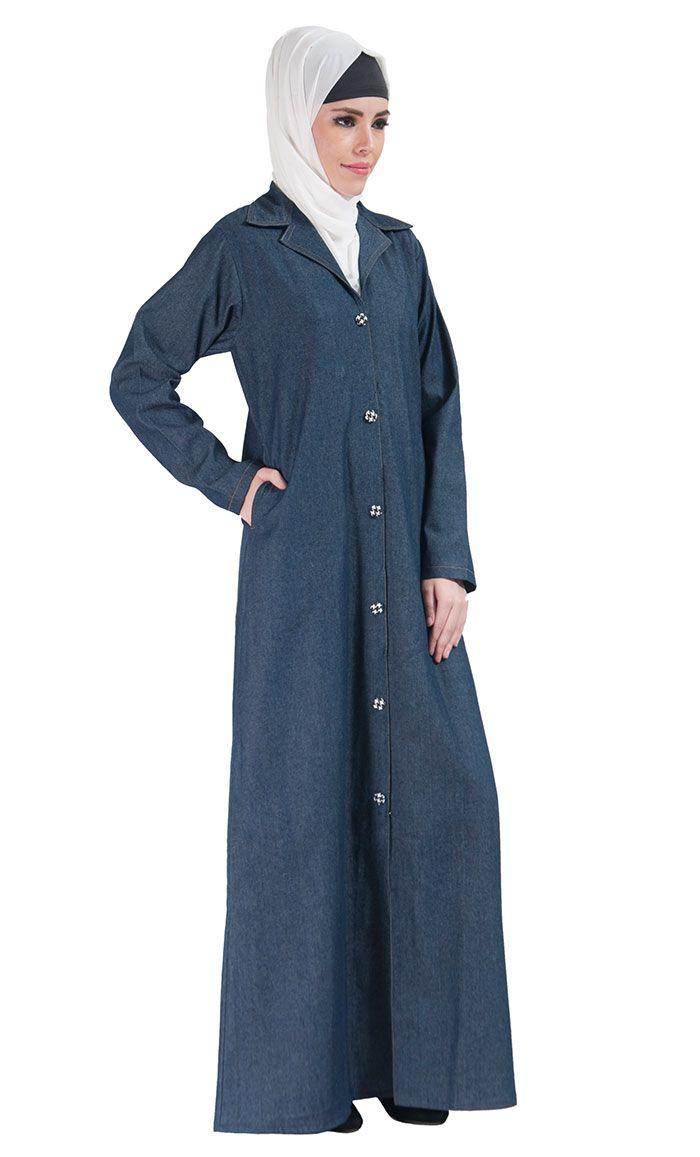 Front Open Jilbab Jacket