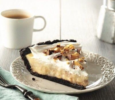 Banana-caramel cream pie