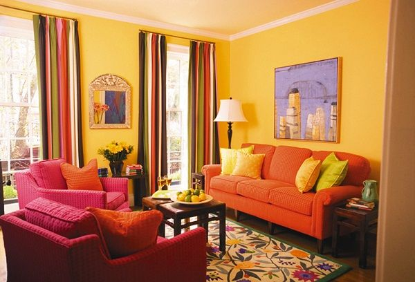 1000 images about rooms on pinterest colorful bedroom for Rich colors for living room