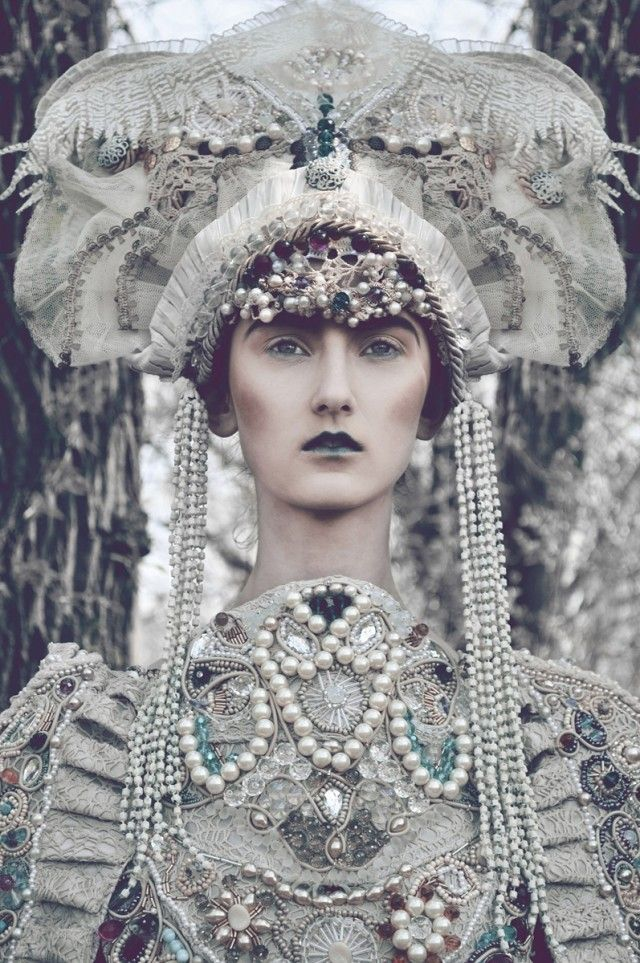 Russian royalty inspired editorial.