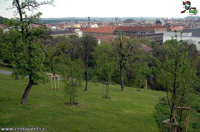 Praha - Park Sacré Coeur
