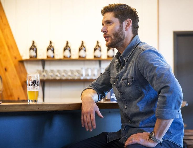 """""""Supernatural"""" star Jensen Ackles is now the co-owner of a brewery."""