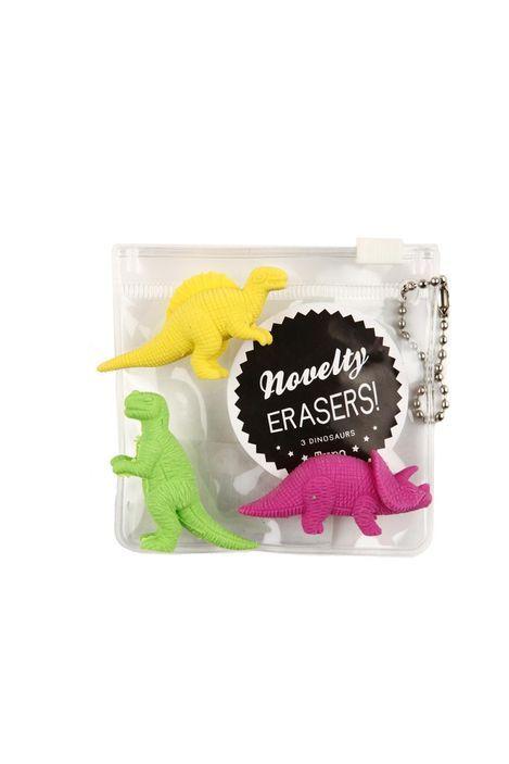 novelty eraser pack DINOSAUR