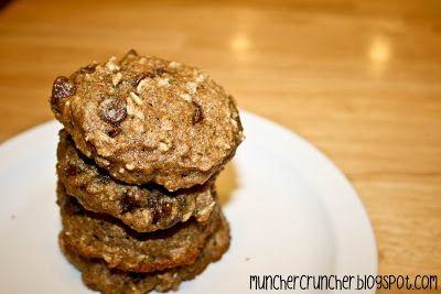 Low Fat Zucchini Cookies | Muncher Cruncher