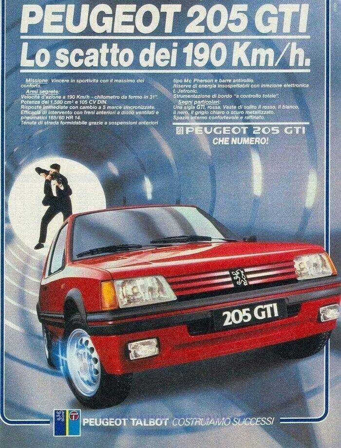 Peugeot 205 GTI Adv