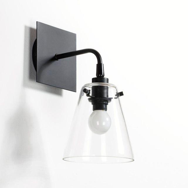 Applique métal et verre, Kiyo La Redoute Interieurs | La Redoute Mobile