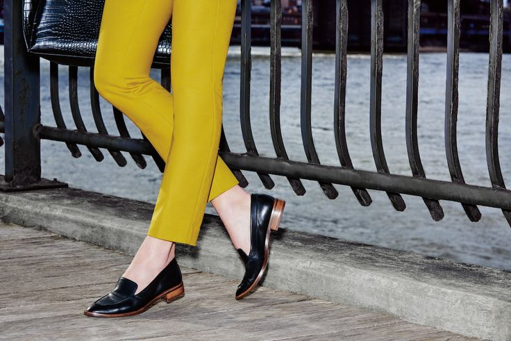 The perfect fall loafers that are tailor made for your fav work #outfit.
