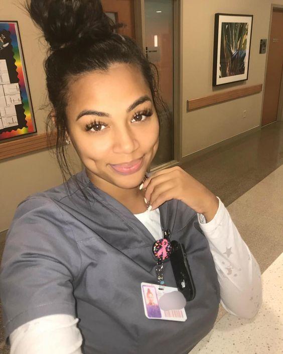 Ebony head nurse