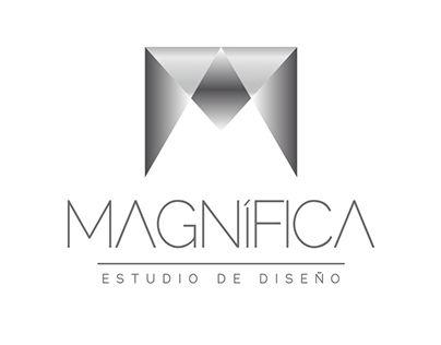 "Check out new work on my @Behance portfolio: ""Logo Magnifica Estudio de Diseño "" http://on.be.net/1BgHPWI"