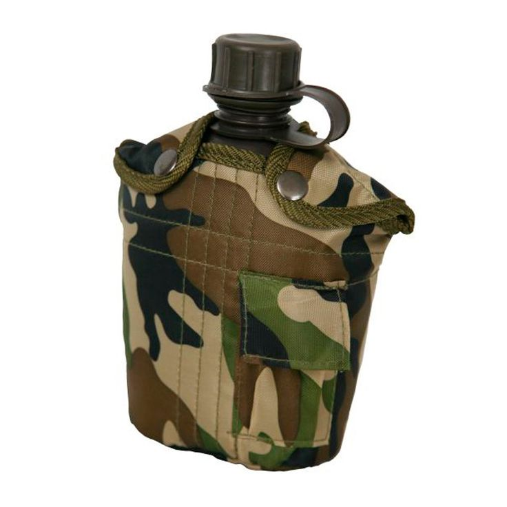 1 qt Canteen Camo with cover