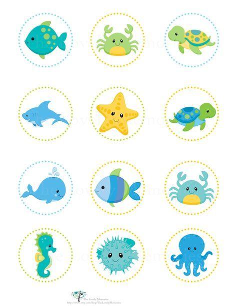 Estas hermosa en las etiquetas imprimibles de mar personalizado pueden utilizarse como toppers cupcake, pegatinas o etiquetas de regalo para tu fiesta de cumpleaños de las niñas o niños o bebé ducha.  También disponible en azul para los niños debajo de la ducha sea cumpleaños o baby... Elija un color externo. Color de rosa, turquesa, naranja, azul o púrpura.  Usted recibirá personalizado archivo DIGITAL (PDF o JPG) en 8 x 11 - debajo de los animales de mar tema puede ser utilizado como…