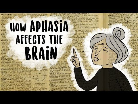 Aphasia: The disorder that makes you lose your words - Susan Wortman-Jutt   TED-Ed