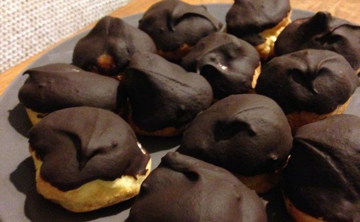 Slagroomsoezen met chocolade
