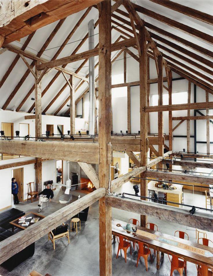 1000 ideas about charpente en bois on pinterest la. Black Bedroom Furniture Sets. Home Design Ideas