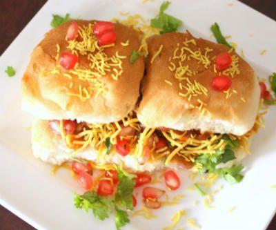 Dabeli - A popular Gujarati street food.