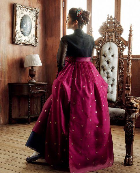 Hanbok Dress   KIM MeHee hanbok couture