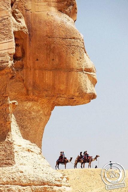 Un rincón del mundo llamado... La Esfinge de Giza, Egipto