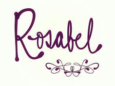 Rosabel. 18th century name devised from Medieval name Rosa and popular suffix -bel, meaning beauty. I prefer this chic simple version, but elaborate Rosabelle seems likely to catch on too, with the popularity of Isabelle. See more baby name pins at http://www.pinterest.com/meggiemaye/for-love-of-names/