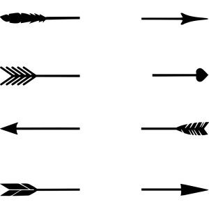 Free SVG Word Arrows Love Laugh Dream | cricut | Arrow svg