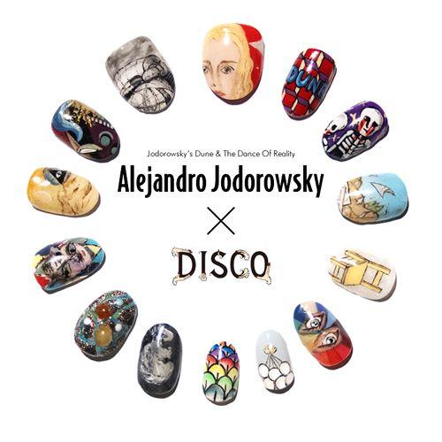 ALEJANDRO JODOROWSKY × DISCO ネイル