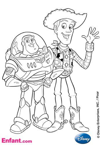 Coloriages Disney : Toy Story