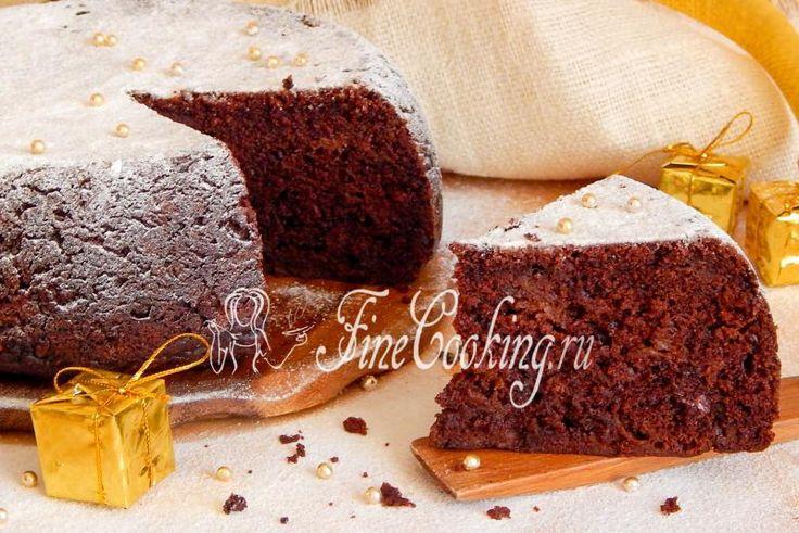 Шоколадный пирог с кабачком в мультиварке - рецепт с фото
