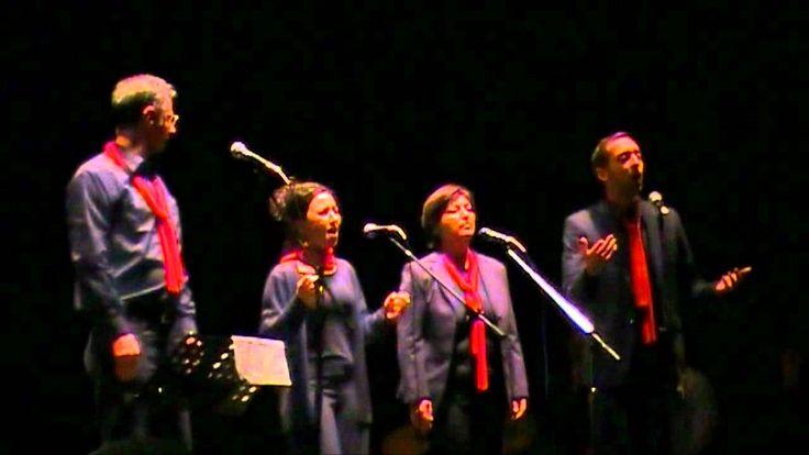 Quartetto Urbano - CANZONE DI VIAGGIO - 50° NCI @ Teatro Valle Occupato 29/1/2012