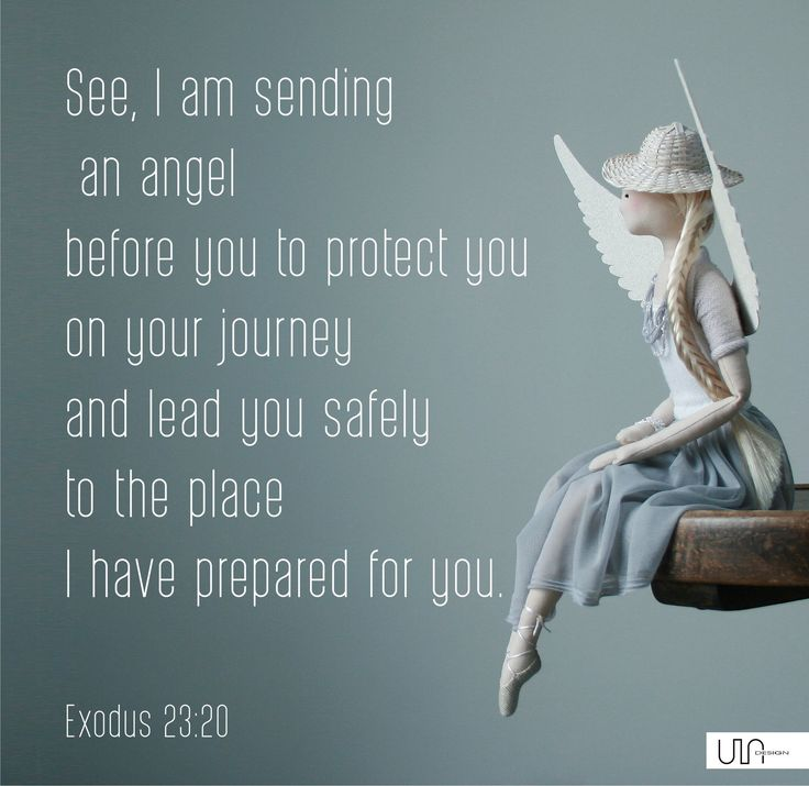 Bible Exodus 23:20 Angel quote from the bible