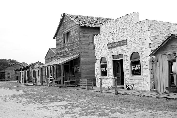 Old Western Town Saloon Next To Bank Http 3 Bp