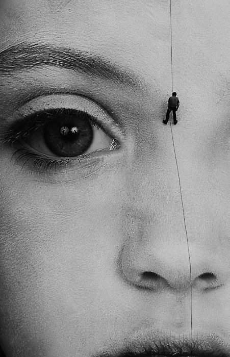 ..Photos, Surrealist Photography, White Photography, The Artists, Black And White, North Face, Gottfried Helnwein, Digital Prints, Eye