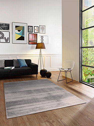 benuta tapis de salon moderne reflex chess pas cher gris 120x170 cm label de qualit - Model Dedecoration Desalon Moderne