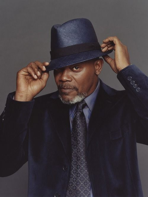 It's the one that says bad m*#&$@ f*#%$* on it... Samuel L. Jackson by Brian Bowen Smith