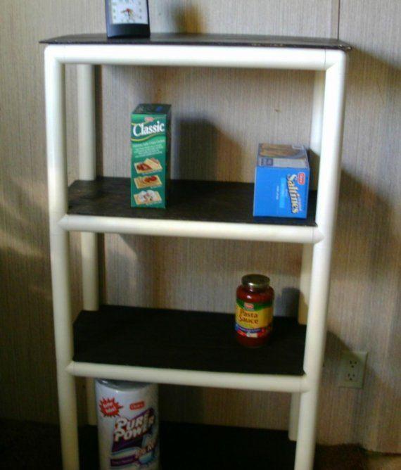PVC Indoor/ Outdoor Shelf | Crafty | Pinterest | Shelves ...