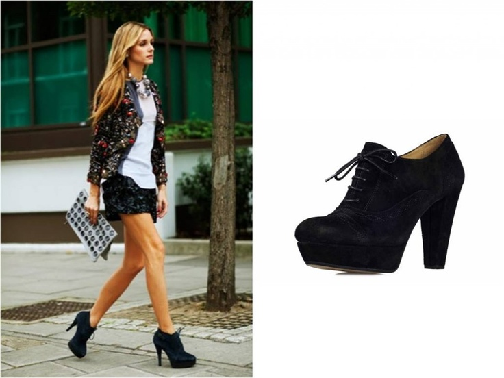 Zapatos negros formales Young Fashion para mujer wrt3sF