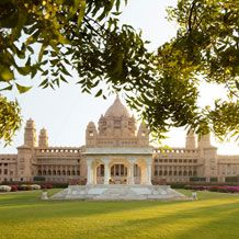 Stayed at Umaid Bhawan Palace, Jodhpur, India