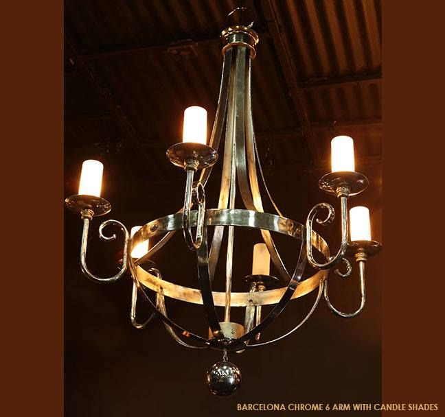 Our Barcelona chandelier.. Modern and elegant.