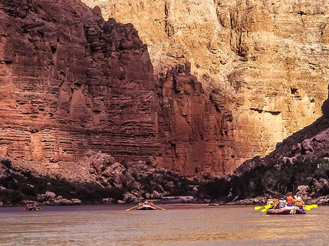 Rafting in the Grand Canyon on the Colorado River