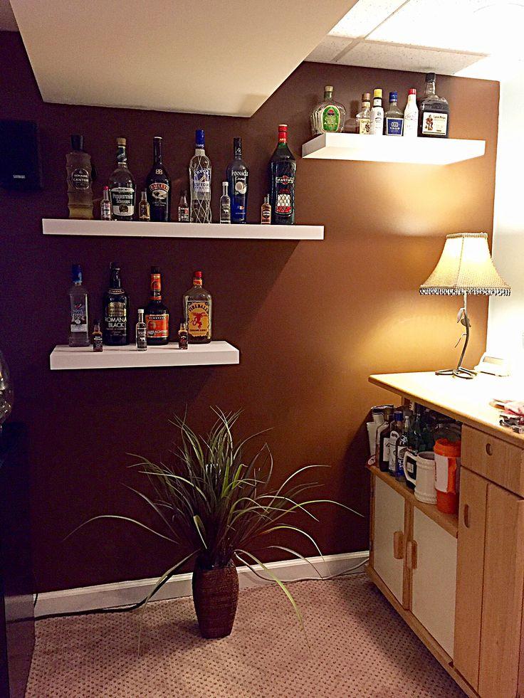 17 Best Images About Liquor Bottle Shelving Ideas On