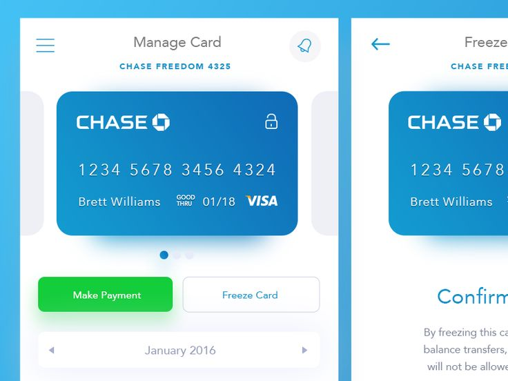 Chase Bank App by Brett