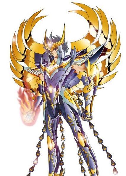 Una de las representaciones de Ikki de Fénix el caballero del ave fénix del anime de los caballeros del zodiaco donde protegen a la diosa Atenea. Todo un símbolo para los que seguimos en su día la serie de anime y las siguientes versiones en donde salia.