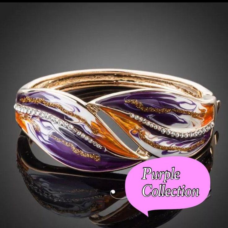Purple gold bracelet kod 907718