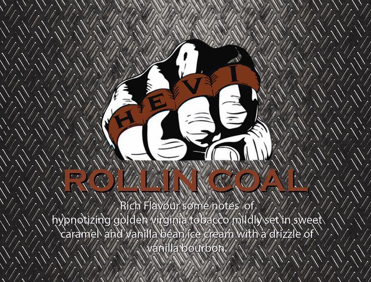 Hevi Vape Rollin coal www.hevivape.com